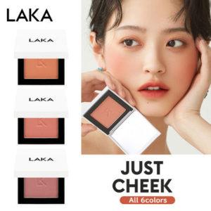 韓国コスメのLAKA ジャスト チーク