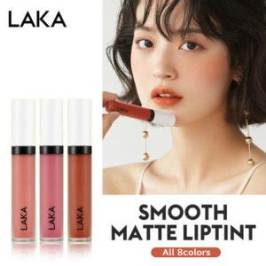 韓国コスメのLAKA スムース マット リップティント
