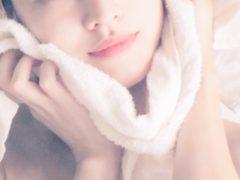 蒸しタオルで毛穴ケア